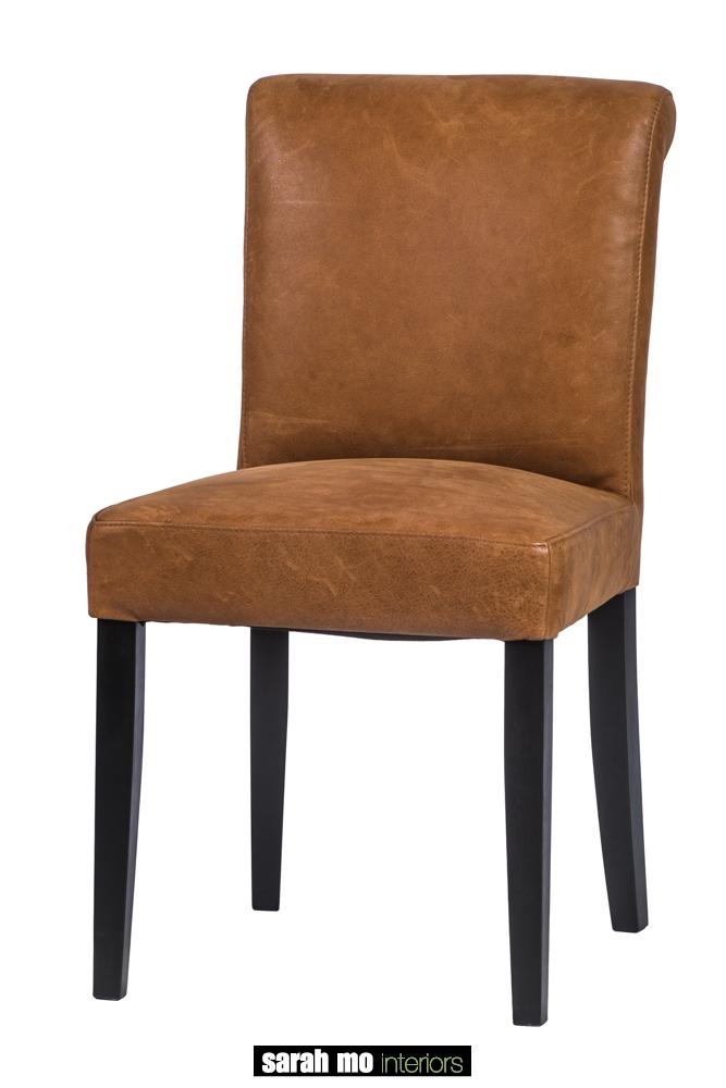 Eetkamerstoel in microvezel - Stoel - Landelijke meubels en verlichting - Sarah Mo