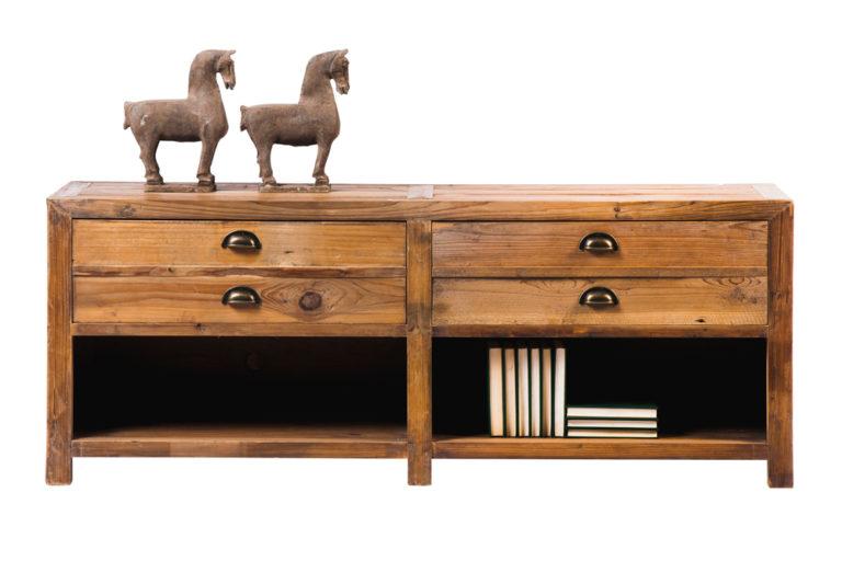 Tv-dressoir in old pine - Dressoir - Landelijke meubels en verlichting - Sarah Mo
