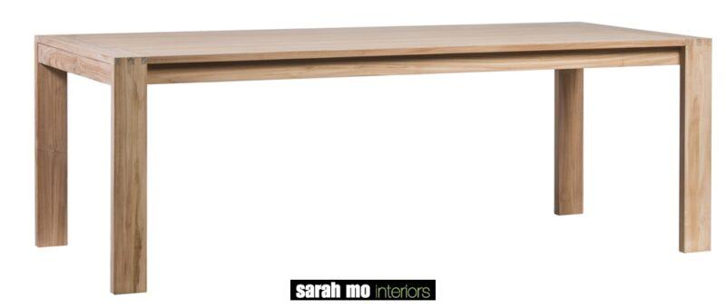 Tafel teak verlengbaar - Tafel - Landelijke meubels en verlichting - Sarah Mo