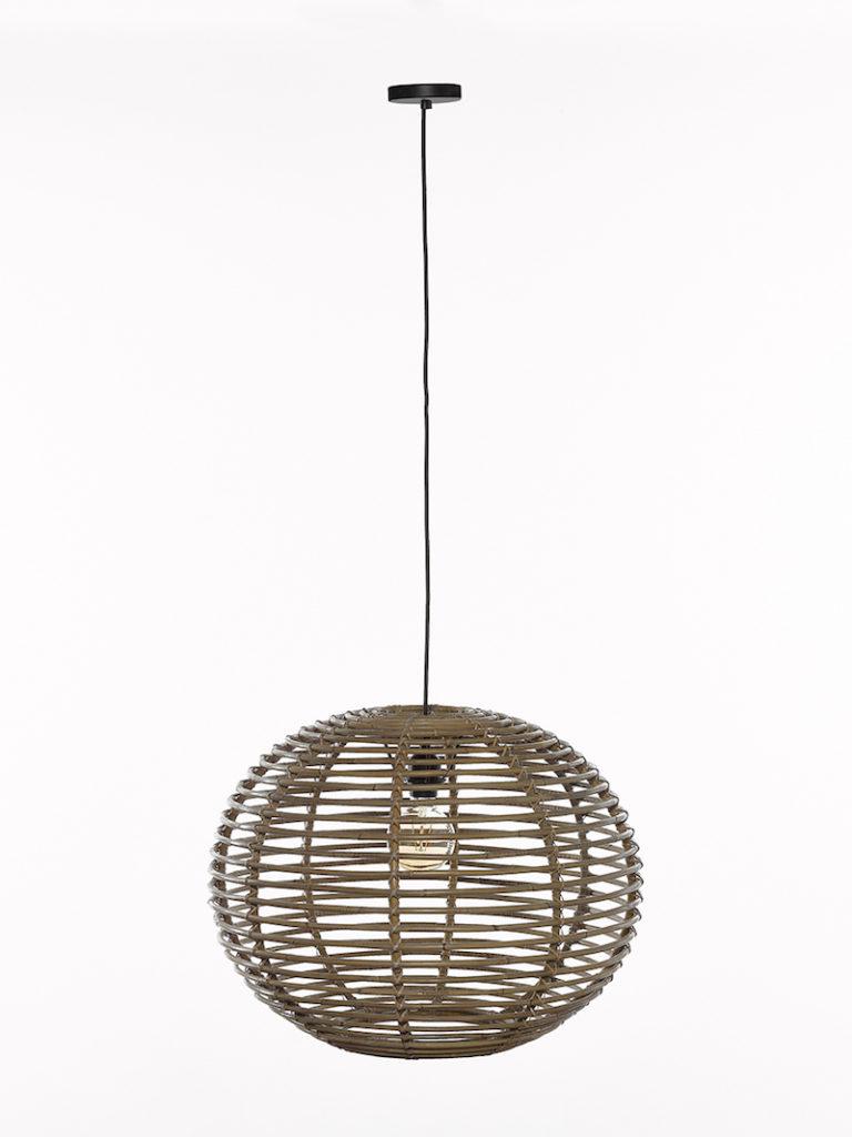 QUIN LARGE GREY RATAN - Lichtpunt - Landelijke meubels en verlichting - Sarah Mo