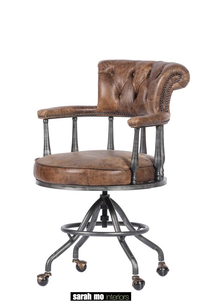 Bureaustoel - Landelijke meubels en verlichting - Sarah Mo