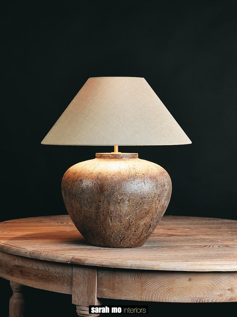 TOMBA-L-VINTAGE - Tafellamp - Landelijke meubels en verlichting - Sarah Mo