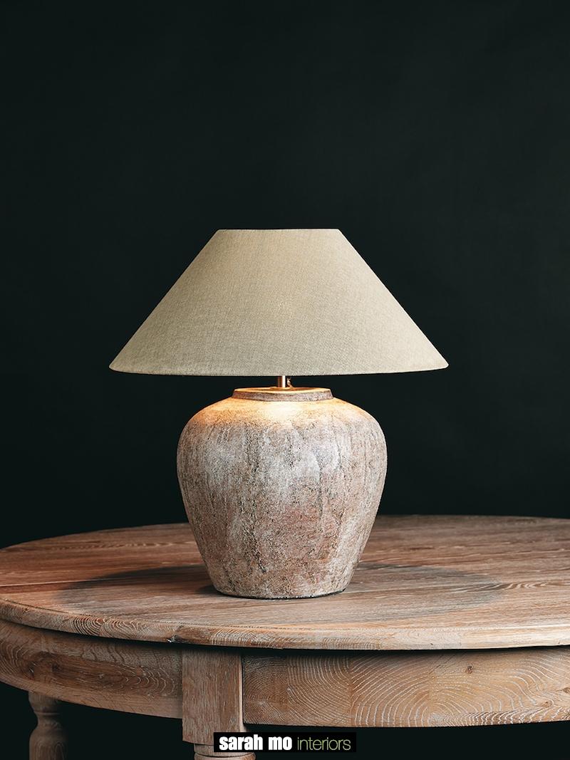 TOMBA-S-SCOTCH - Lampenkap - Landelijke meubels en verlichting - Sarah Mo