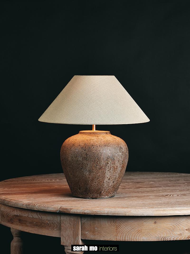TOMBA-S-VINTAGE - Tafellamp - Landelijke meubels en verlichting - Sarah Mo