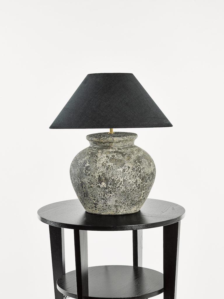 TONGA SMALL ANTRACIET - Lampenkap - Landelijke meubels en verlichting - Sarah Mo