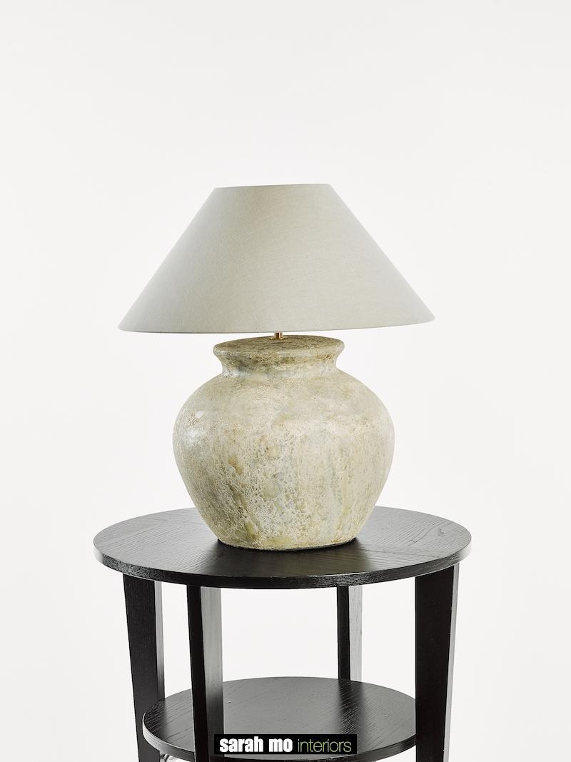TONGA SMALL CREME - Tafel - Landelijke meubels en verlichting - Sarah Mo