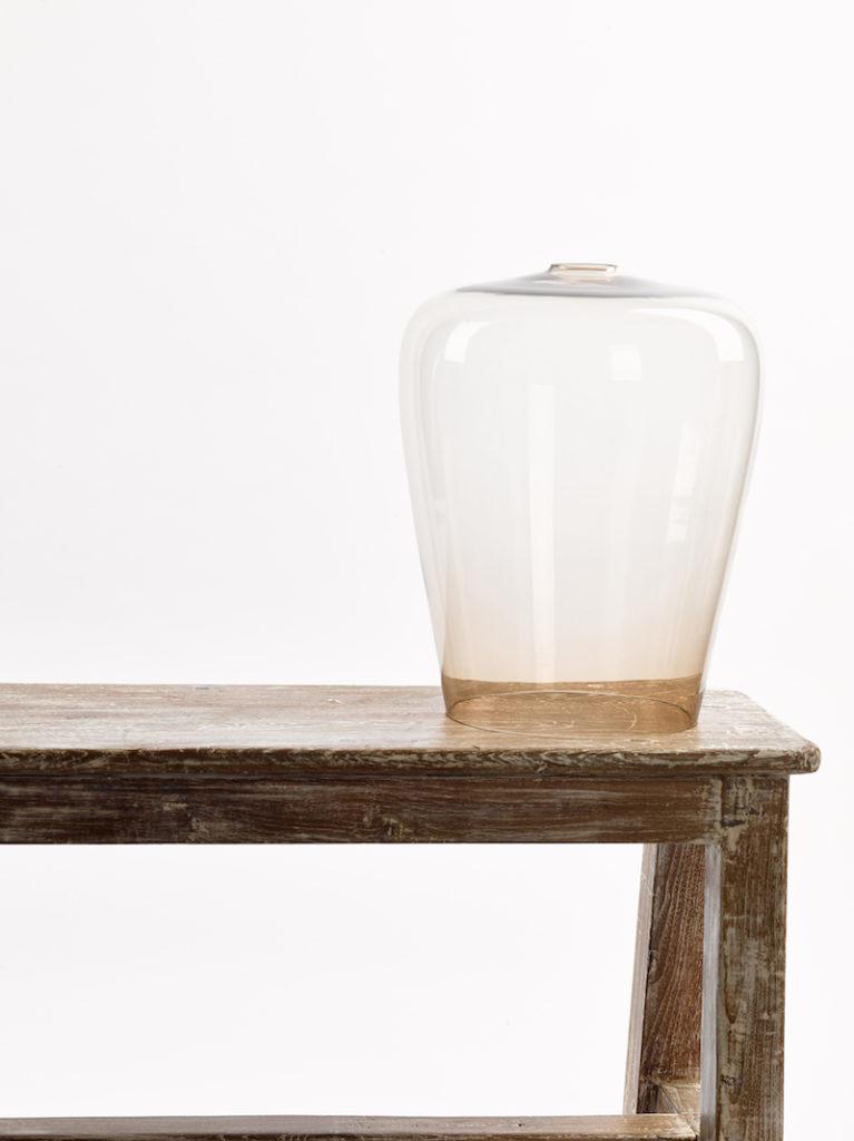 GLAS TULP GROOT TOPAZ - Lampenkap - Landelijke meubels en verlichting - Sarah Mo