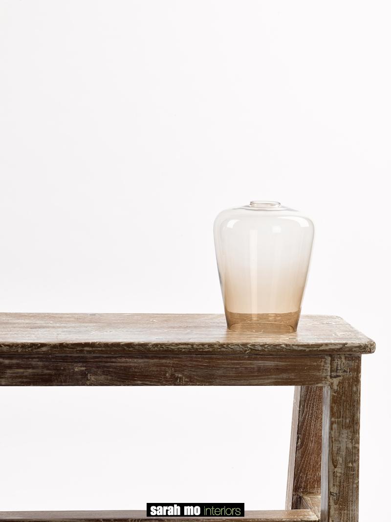 GLAS TULP KLEIN TOPAZ - Productontwerp - Landelijke meubels en verlichting - Sarah Mo