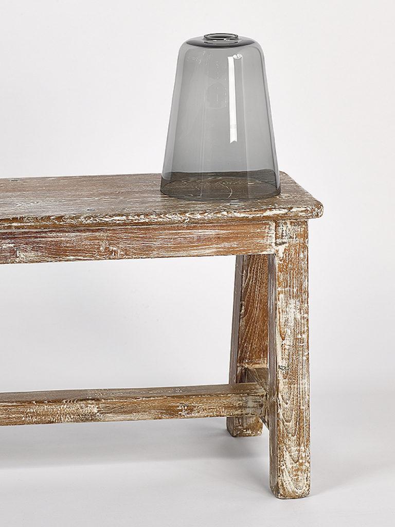 GLAS CONO GROOT FUME - Salontafel - Landelijke meubels en verlichting - Sarah Mo