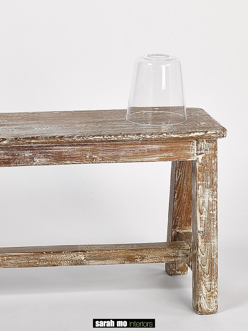 GLAS CONO KLEIN HELDER - Salontafel - Landelijke meubels en verlichting - Sarah Mo
