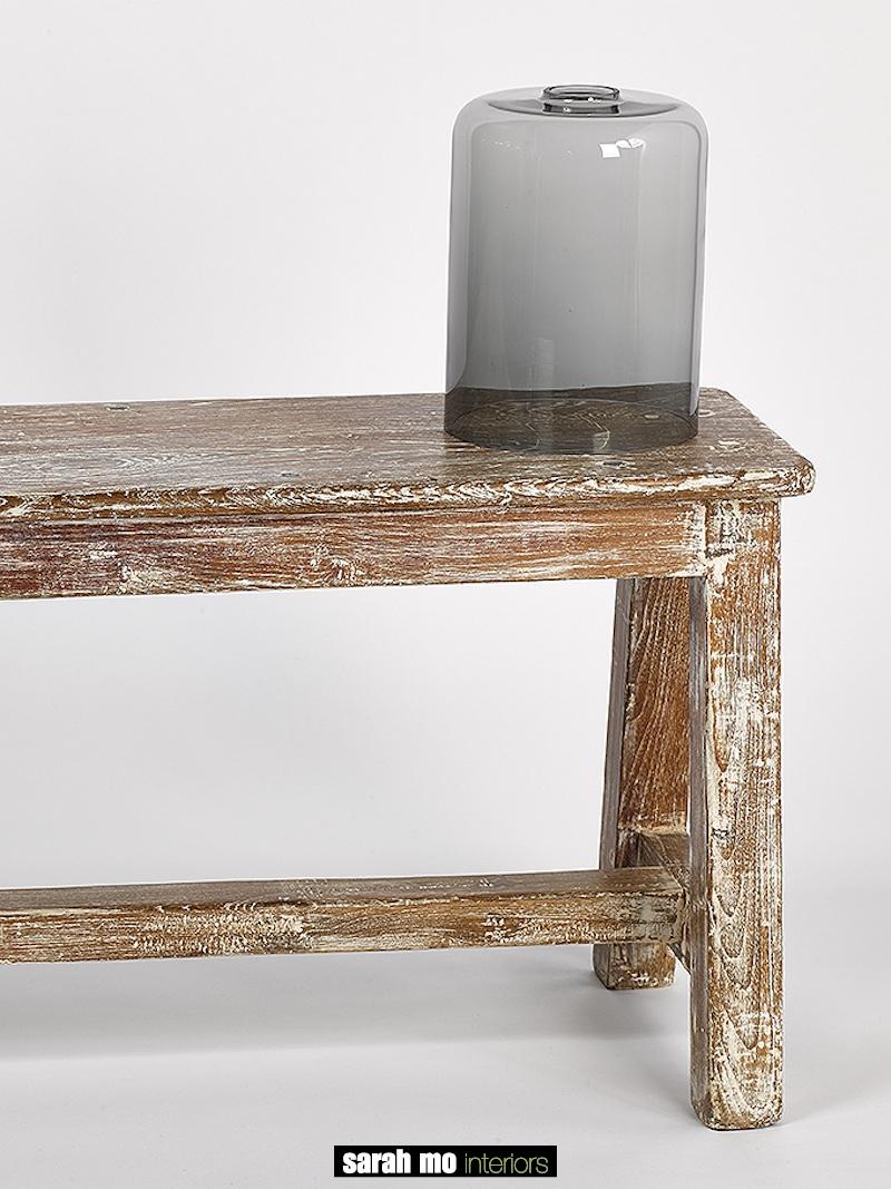 GLAS CYLINDER GROOT FUME - Tafel - Landelijke meubels en verlichting - Sarah Mo