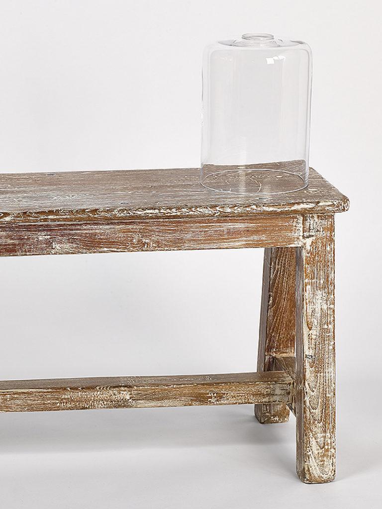 GLAS CYLINDER GROOT HELDER - Salontafel - Landelijke meubels en verlichting - Sarah Mo