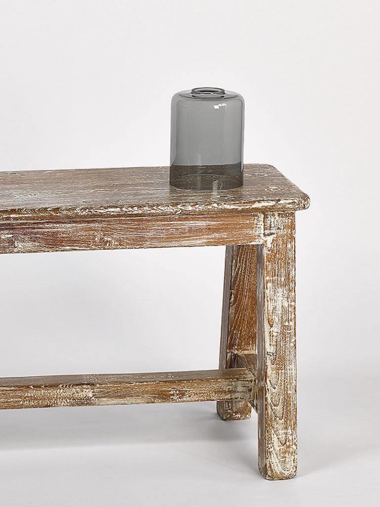 GLAS CYLINDER KLEIN FUME - Salontafel - Landelijke meubels en verlichting - Sarah Mo