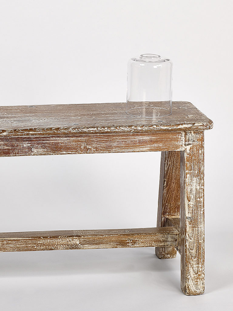 GLAS CYLINDER KLEIN HELDER - Salontafel - Landelijke meubels en verlichting - Sarah Mo